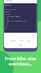 Mimo App: Learn coding in JavaScript, Python and HTML 2