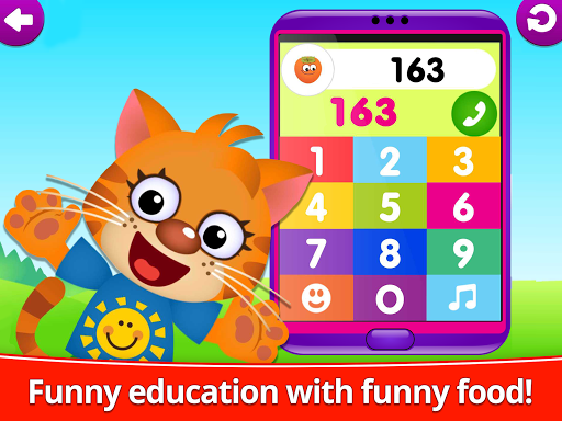 Funny Food 123! Kids Number Games for Toddlers  screenshots 10