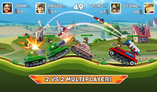 Hills of Steel MOD APK (Unlimited Coins) 6