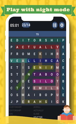 Word Search game 2021 u270fufe0fud83dudcda - Free word puzzle game 1.9.3 screenshots 3