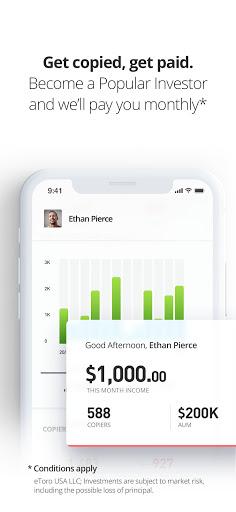 Foto do eToro - Smart crypto trading made easy