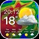 天気予報-リアルタイムの天気アラートとウィジェット - Androidアプリ