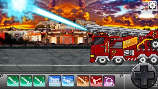Triceratops - Combine! Dino Robot Fire Truck Squad  screenshots 14