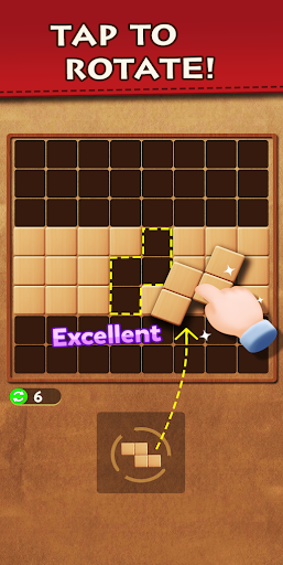 Wood Block Puzzle - Top Classic Free Puzzle Game  screenshots 1