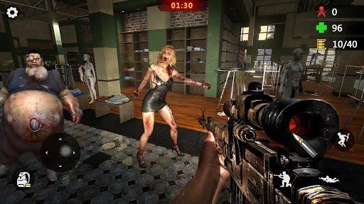 Elite Killer 3D: Zombie Offline Shooting Games-FPS apktram screenshots 11