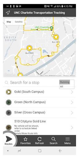 UNCC NextRide  Screenshots 2