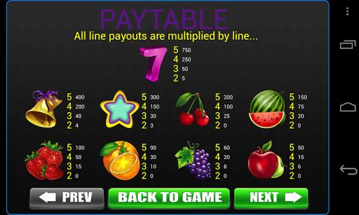 Classic 777 Fruit Slots -Vegas Casino Slot Machine apkdebit screenshots 3
