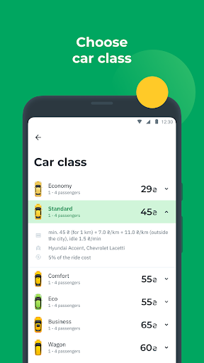 OnTaxi - book a taxi online 5.9.0 Screenshots 2