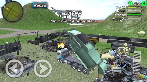 Super Crime Steel War Hero Iron Flying Mech Robot 1.2.1 Screenshots 2