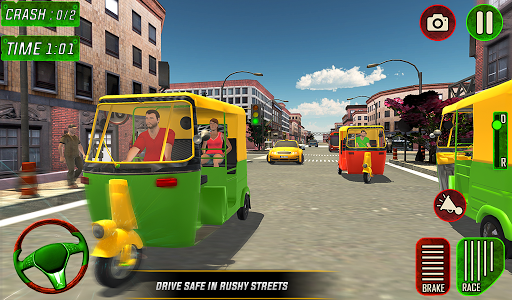 Tuk Tuk Auto Rickshaw Driver 2019:City Parking 1.5 screenshots 18