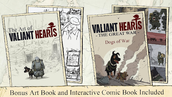 Valiant Hearts The Great War 1.0.1 Screenshots 20