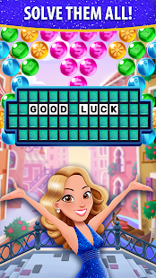 Bubble Pop: Wheel of Fortune! Puzzle Word Shooter Apkfinish screenshots 6