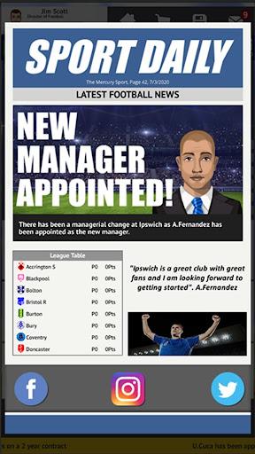 Club Soccer Director 2021 - Soccer Club Manager  screenshots 3