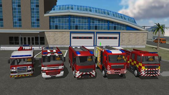 Fire Engine Simulator  screenshots 1