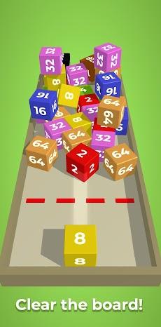 チェーンキューブ:2048 3Dマージゲームのおすすめ画像2