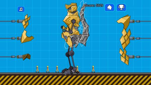 Robot Megalosaurus Dino War screenshots 3