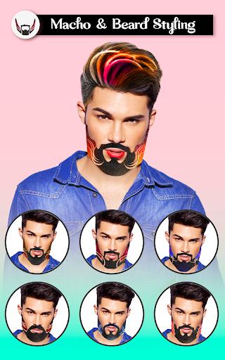 Macho - Man makeover app & Photo Editor for Men 4.5 Screenshots 3
