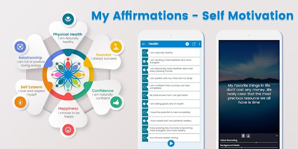 My Affirmations – Self Motivation 1.10 Apk 1
