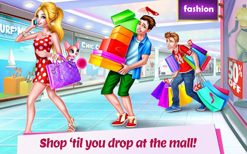 Shopping Mall Girl - Dress Up