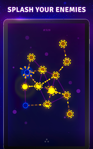 Splash Wars - glow space strategy game apkpoly screenshots 12