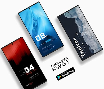 Timeless KWGT Apk [Paid] Download for Android 9