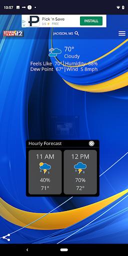 WJTV Weather 5.3.500 screenshots 1