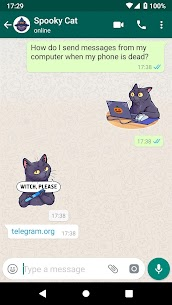 Unofficial telegram stickers for For Pc (Windows And Mac) Free Download 2