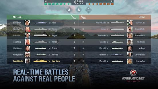 World of Warships Blitz: Gunship Action War Game Unlimited Money