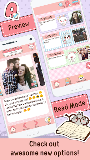 Niki: Cute Diary App 4.2.3 Screenshots 2