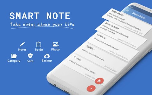 Smart Note Mod Apk- Notes, Notepad, Todo (Premium Features Unlocke) 1