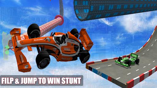 Formula Car Racing 3D -Mega ramp Car Driving Games Apkfinish screenshots 4
