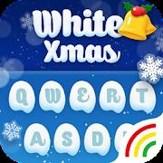 Christmas Theme - White Christmas Theme Keyboard