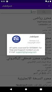 JobSpot (Job search Engine)