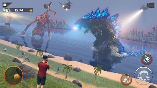 Monster Smash City – Godzilla vs Siren Head MOD APK 1.0.4 (Unlimited Money) 4