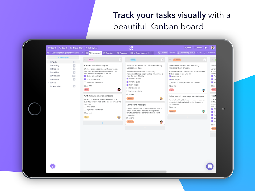 Captura 17 de Infinity — Organize anything, your way. para android