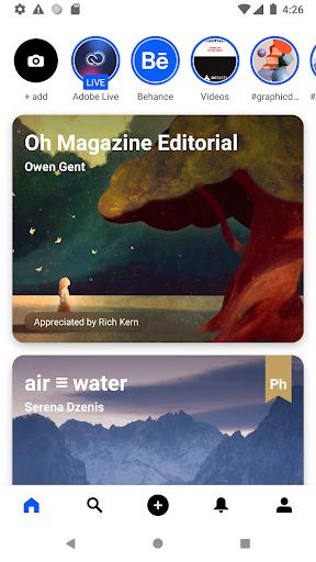 Behance: Photography, Graphic Design, Illustration 6.5.4 Screenshots 9