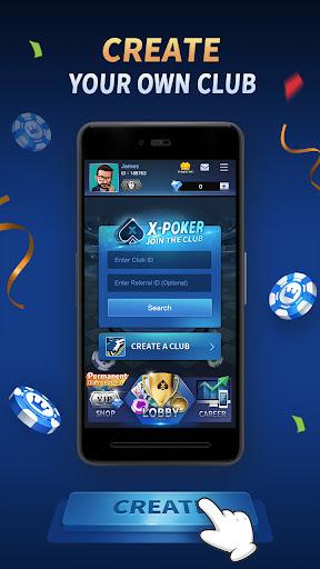 X-Poker - Online Home Game 1.6.0 screenshots 1