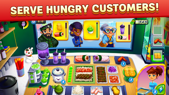 Free Diner DASH Adventures – Cook Fast  Beat the Clock Apk Download 2021 3