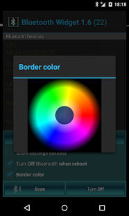 Bluetooth On/Off Widget