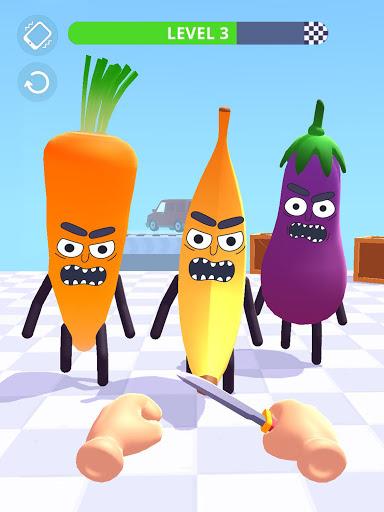 Hit Tomato 3D: Knife Throwing Master screenshots 14