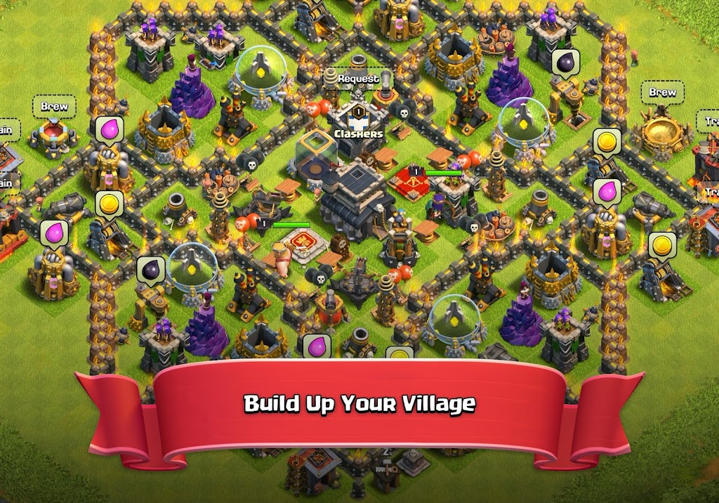 Clash of Clans  poster 10