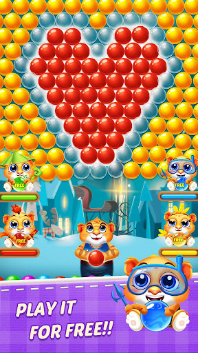 Bubble Shooter 2 Tiger  screenshots 5
