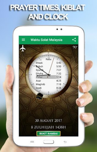 Waktu Solat Malaysia 17.11.02 Screenshots 1
