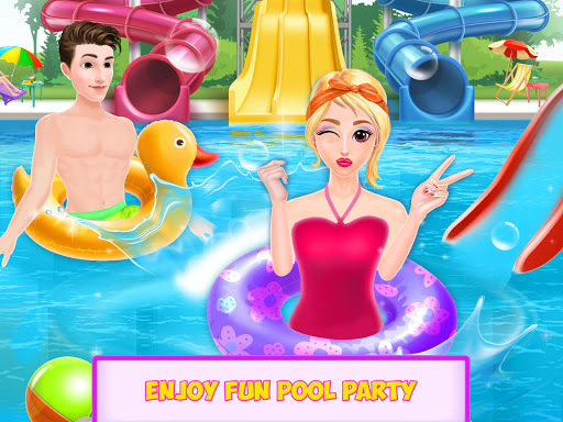 water slide ride fun park screenshot 2