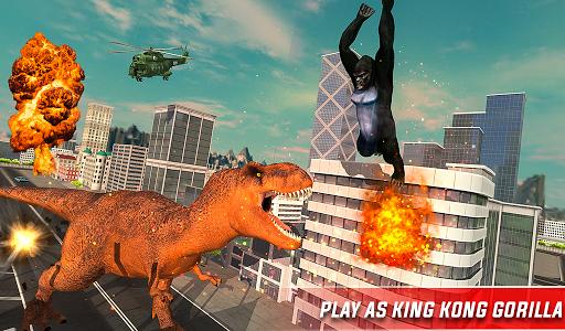 Monster Dino Vs King Kong-City Rampage Simulator 1.0.3 screenshots 19