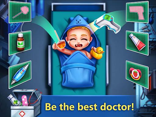 ER Hospital 2 - Zombie Newborn Baby ER Surgery android2mod screenshots 3