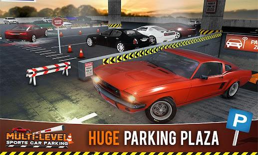 Multi-storey Sports Car Parking Simulator 2019 1.5 screenshots 1