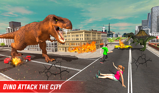 Monster Dino Vs King Kong-City Rampage Simulator 1.0.3 screenshots 20