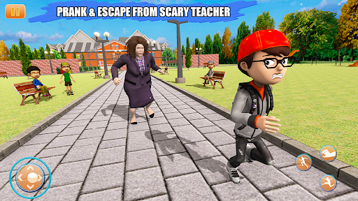Scary Bad Teacher 3D - House Clash Scary Games  screenshots 13