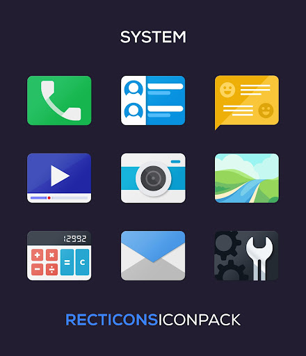 Download APK: Recticons – Icon Pack v4.4 [Patched]